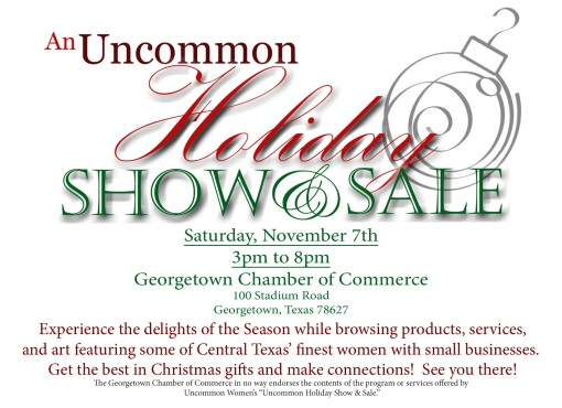 Uncommon Holiday Show & Sale Flier